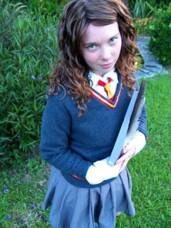Hermione Granger from Harry Potter worn by Dandelionswish