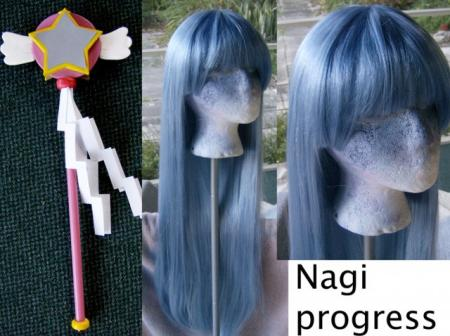 Nagi from Kannagi: Crazy Shrine Maidens