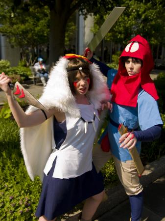 San from Princess Mononoke worn by Dandelionswish