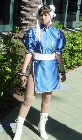 Chun Li from Street Fighter II worn by AznAphrodite