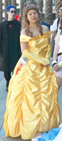 Belle from Kingdom Hearts worn by AznAphrodite