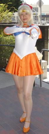 Sailor Venus from Sailor Moon worn by AznAphrodite