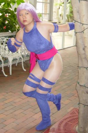 Psylocke from Marvel vs Capcom 2 worn by AznAphrodite