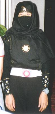 Black Ranger from Mighty Morphin' Power Rangers worn by AznAphrodite