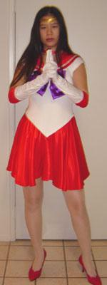 Sailor Mars from Sailor Moon worn by AznAphrodite