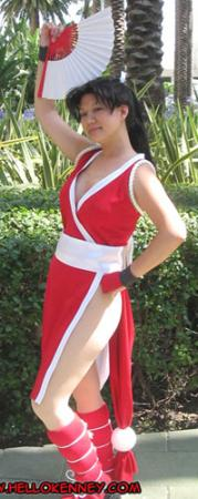 Mai Shiranui from King of Fighters 1999 worn by AznAphrodite
