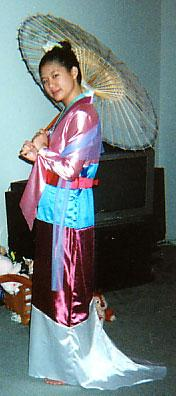 Mulan from Mulan worn by AznAphrodite