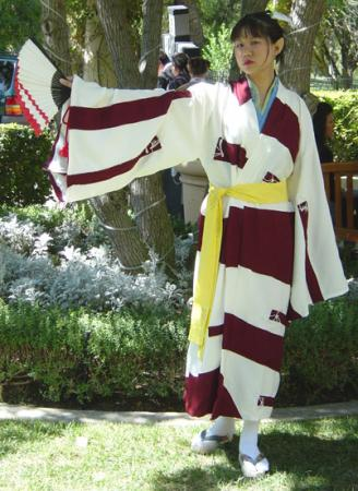 Kagura from Inuyasha worn by AznAphrodite