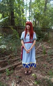 Marin from Legend of Zelda: Link's Awakening worn by Elf Queen