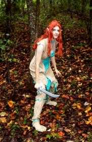 Ember from Elfquest worn by Elf Queen
