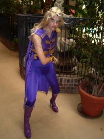 Amethyst from DC Comics worn by Elf Queen