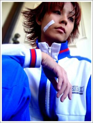 Eiji Kikumaru from Prince of Tennis