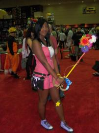 Kairi from Kingdom Hearts 2 worn by blackflame16