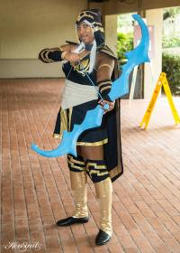 Ashe from League of Legends worn by blackflame16