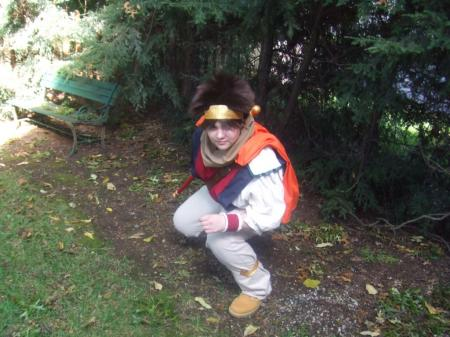 Son Goku from Saiyuki worn by thedoctorboy