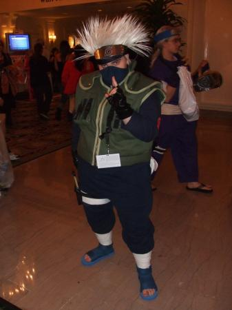 Kakashi Hatake from Naruto worn by thedoctorboy