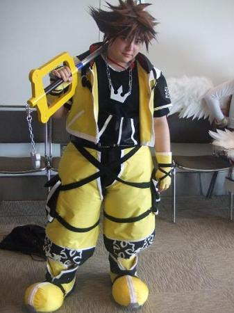 Sora from Kingdom Hearts 2 worn by thedoctorboy