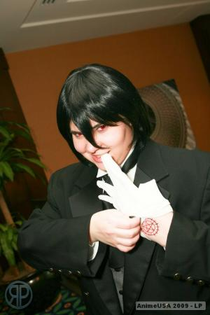 Sebastian Michaelis from Black Butler worn by thedoctorboy