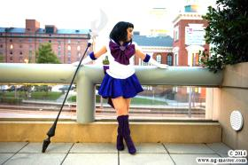 Super Sailor Saturn from Sailor Moon Super S  by Chibi-Lisa