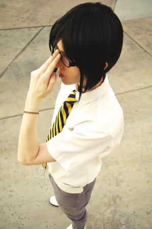 Ishida Uryuu from Bleach worn by M Is For Murder