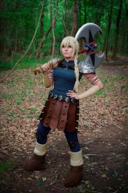 Astrid Hofferson from DreamWorks Dragons: Race to the Edge