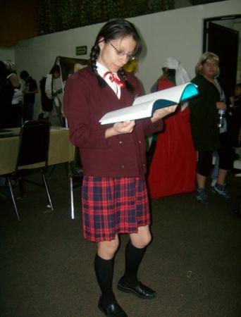 Satomi Hakase from Mahou Sensei Negima!