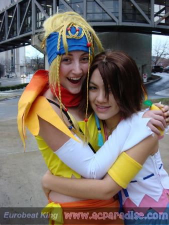 Rikku from Kingdom Hearts 2 worn by TotallyToastyAri