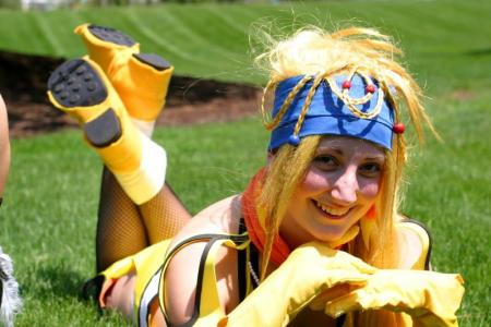 Rikku from Final Fantasy X-2 worn by TotallyToastyAri