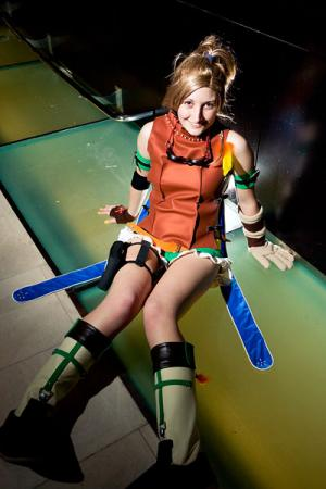 Rikku from Final Fantasy X worn by TotallyToastyAri