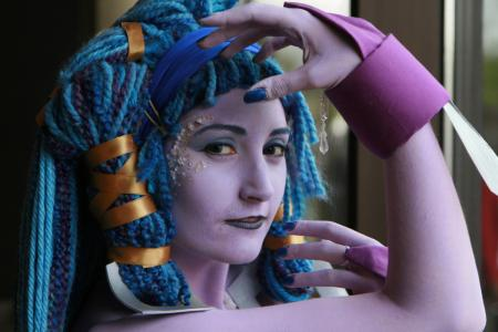 Shiva from Final Fantasy X worn by Rikku-chan-Ari