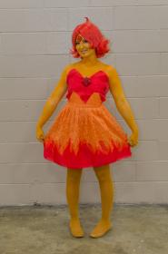 Flame Princess from Adventure Time with Finn and Jake worn by PockyFairy