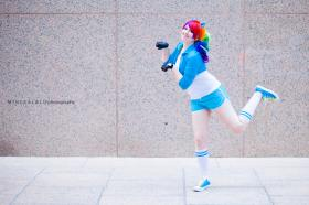 Rainbow Dash from My Little Pony Friendship is Magic  by PockyFairy