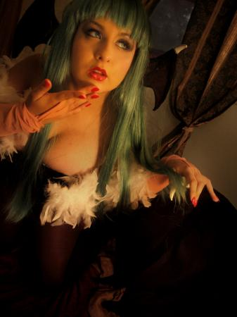 Morrigan Aensland from Darkstalkers worn by Mistress_9