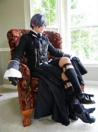 Ciel Phantomhive from Black Butler worn by Nyoko
