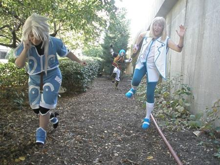 Genis Sage from Tales of Symphonia worn by Nyoko