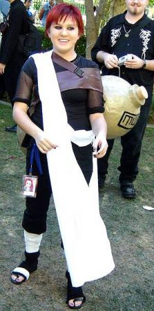Gaara from Naruto worn by Jabi