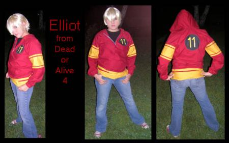 Elliot from Dead or Alive 4 worn by Jabi
