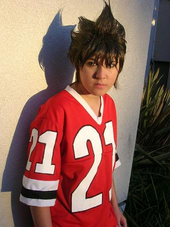 Kobayakawa Sena from Eyeshield 21 worn by Jabi