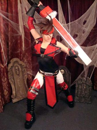 Sol Badguy from Guilty Gear X worn by CelestialShadow19