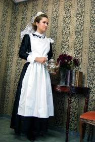 Edwardian Maid from Original:  Historical / Renaissance worn by CelestialShadow19