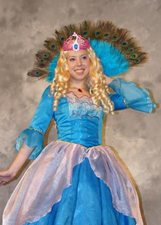Barbie as Rosella from Barbie worn by Kitty Princess Kie