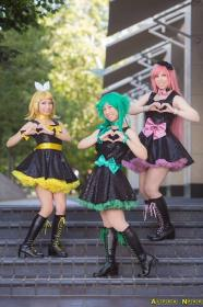 Megurine Luka from Vocaloid 2 worn by Kitty Princess Kie
