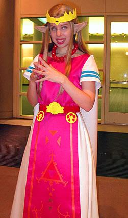 Princess Zelda from Legend of Zelda: A Link to the Past worn by Kitty Princess Kie