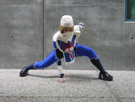 Sheik from Legend of Zelda: Ocarina of Time worn by Kitty Princess Kie