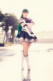 Sailor Pluto from Sailor Moon worn by Kitty Princess Kie