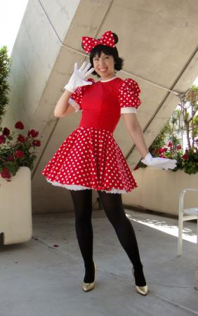 Minnie Mouse from Disney worn by Kitty Princess Kie