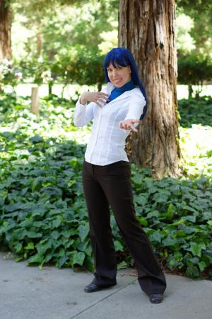 Chihaya Kisaragi from iDOLM@STER worn by Kitty Princess Kie