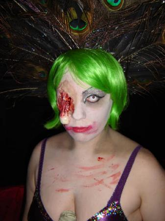Zombie Showgirl from Original Design