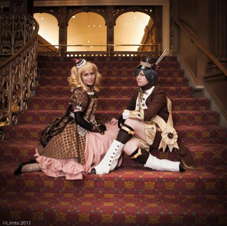 Ciel Phantomhive from Black Butler worn by Sumikins
