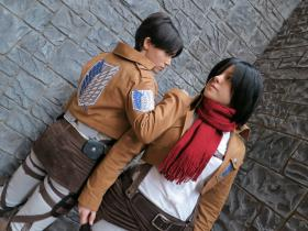 Mikasa Ackerman from Attack on Titan  by Sumikins